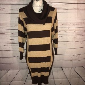 Allison Brittney Sweater Dress Size L NWT
